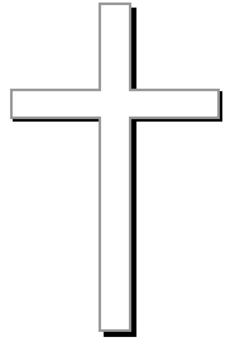Black And White Christian Symbols - ClipArt Best
