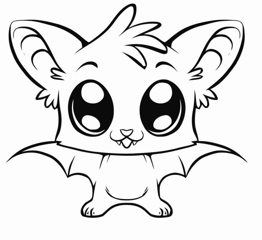 Cute Coloring Pages Animals - ClipArt Best Cute Jungle Animals Coloring Pages