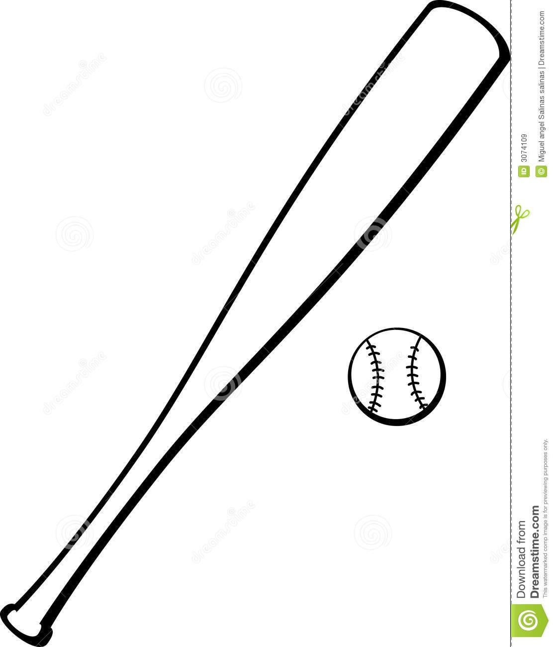 Baseball Bat Drawings - ClipArt Best