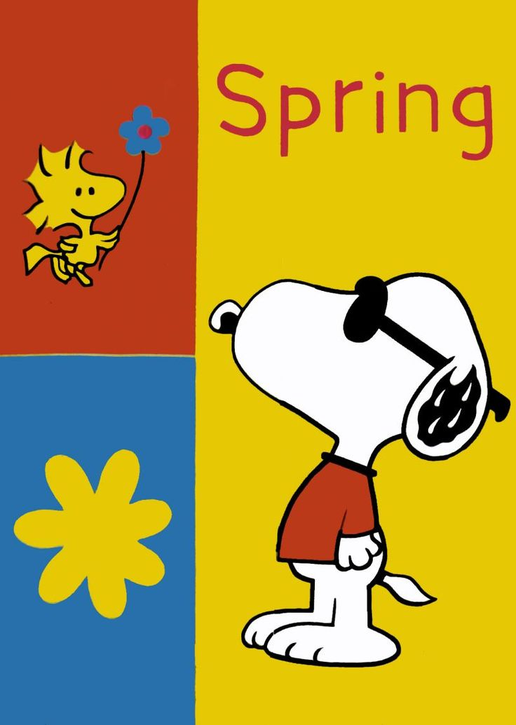Spring-Snoopy - ClipArt Best
