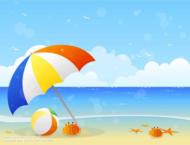clipart beach scenes - photo #9