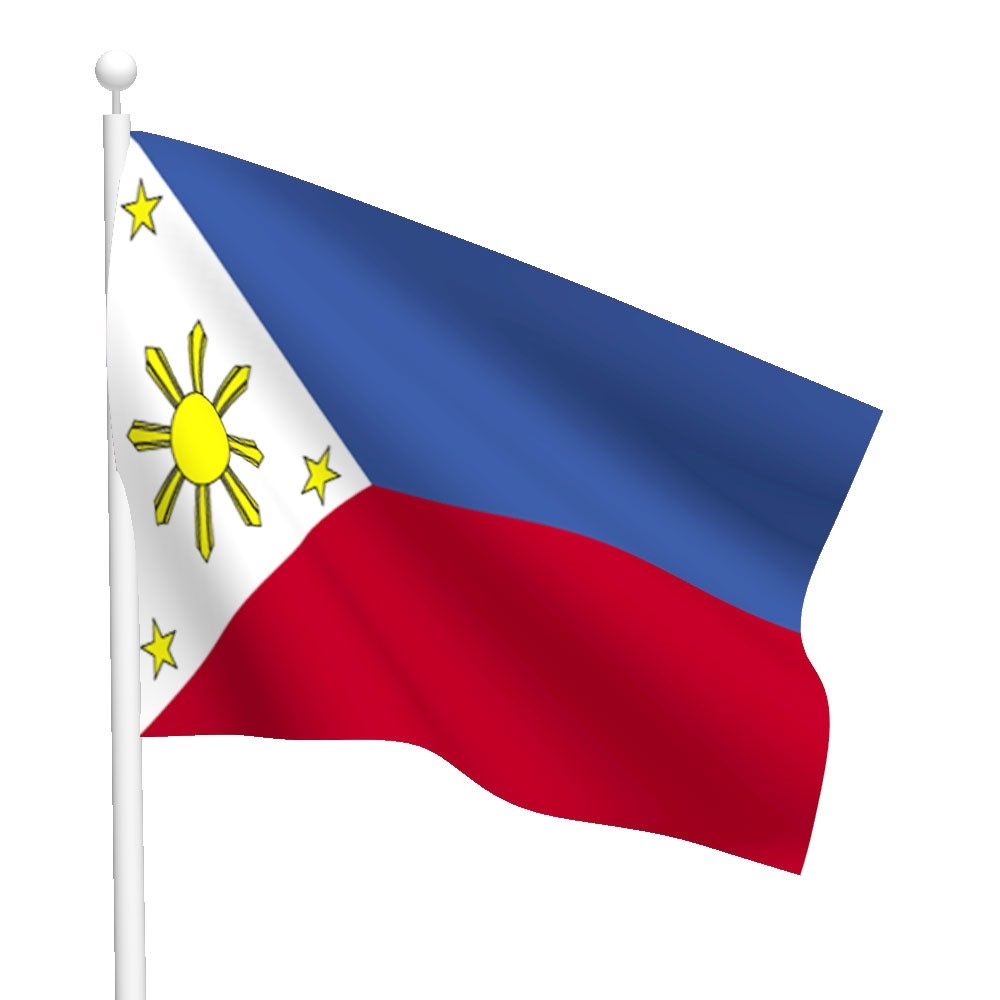 School With Philippine Flag Clipart