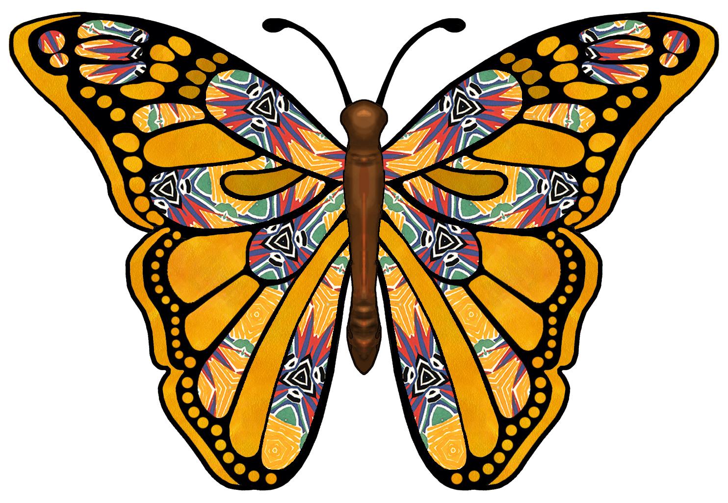 Butterflies Art Images Butterfly Clipart