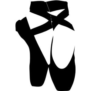 ballerina clipart black and white clipart best