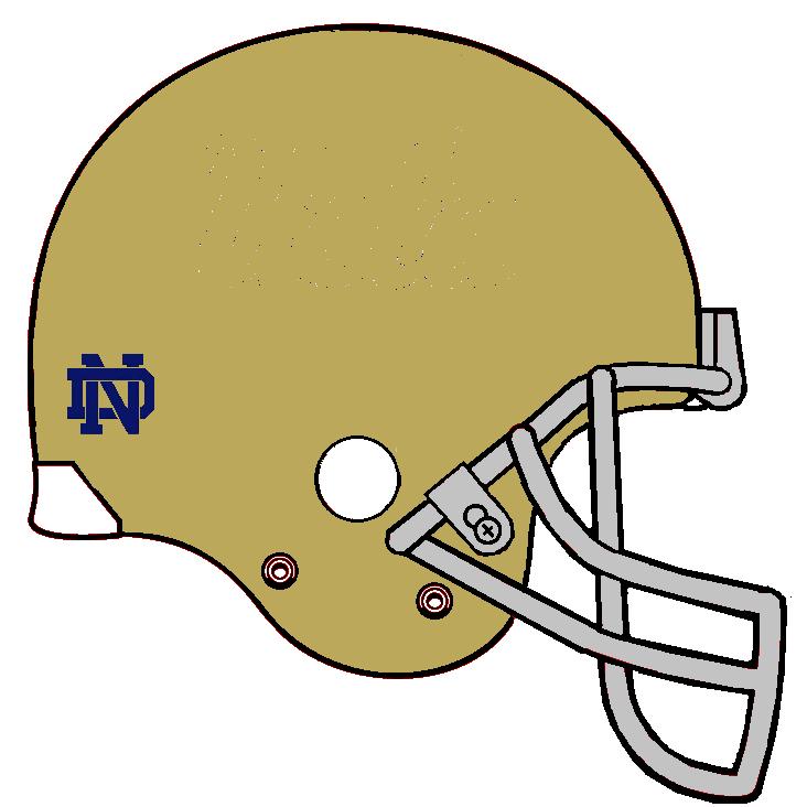 free clip art notre dame helmet clipart best football helmets clip art frontal football helmets clip art frontal