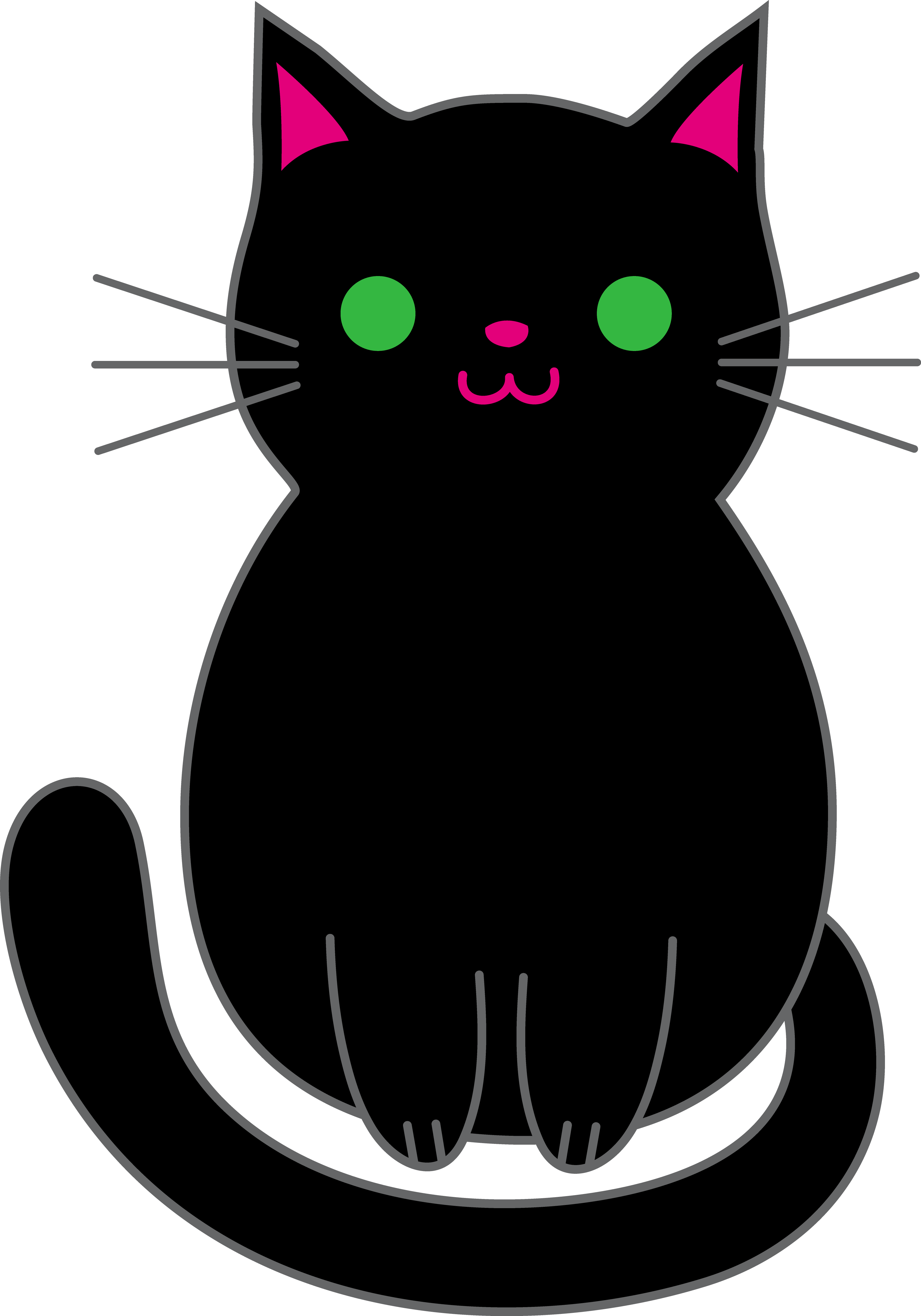 Black Cat Clipart | Free Download Clip Art | Free Clip Art | on ...