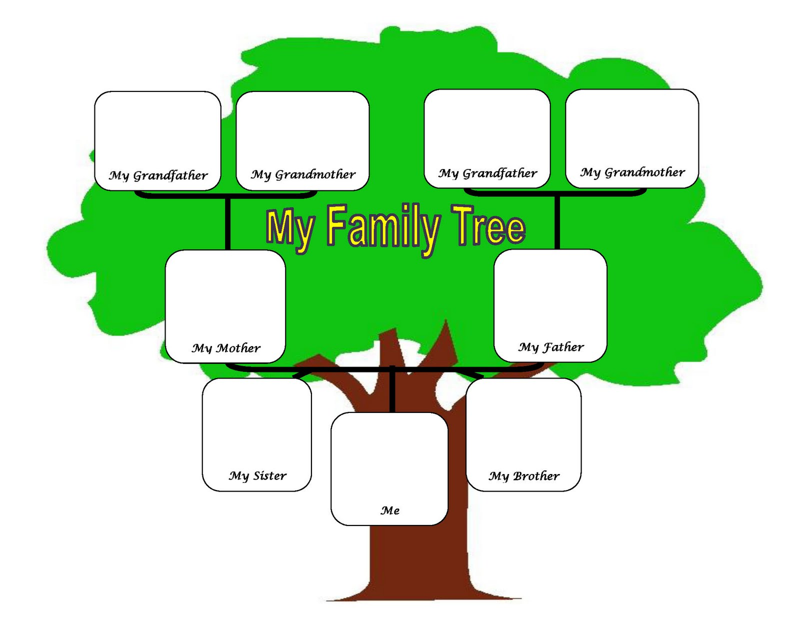 Family Tree - ClipArt Best