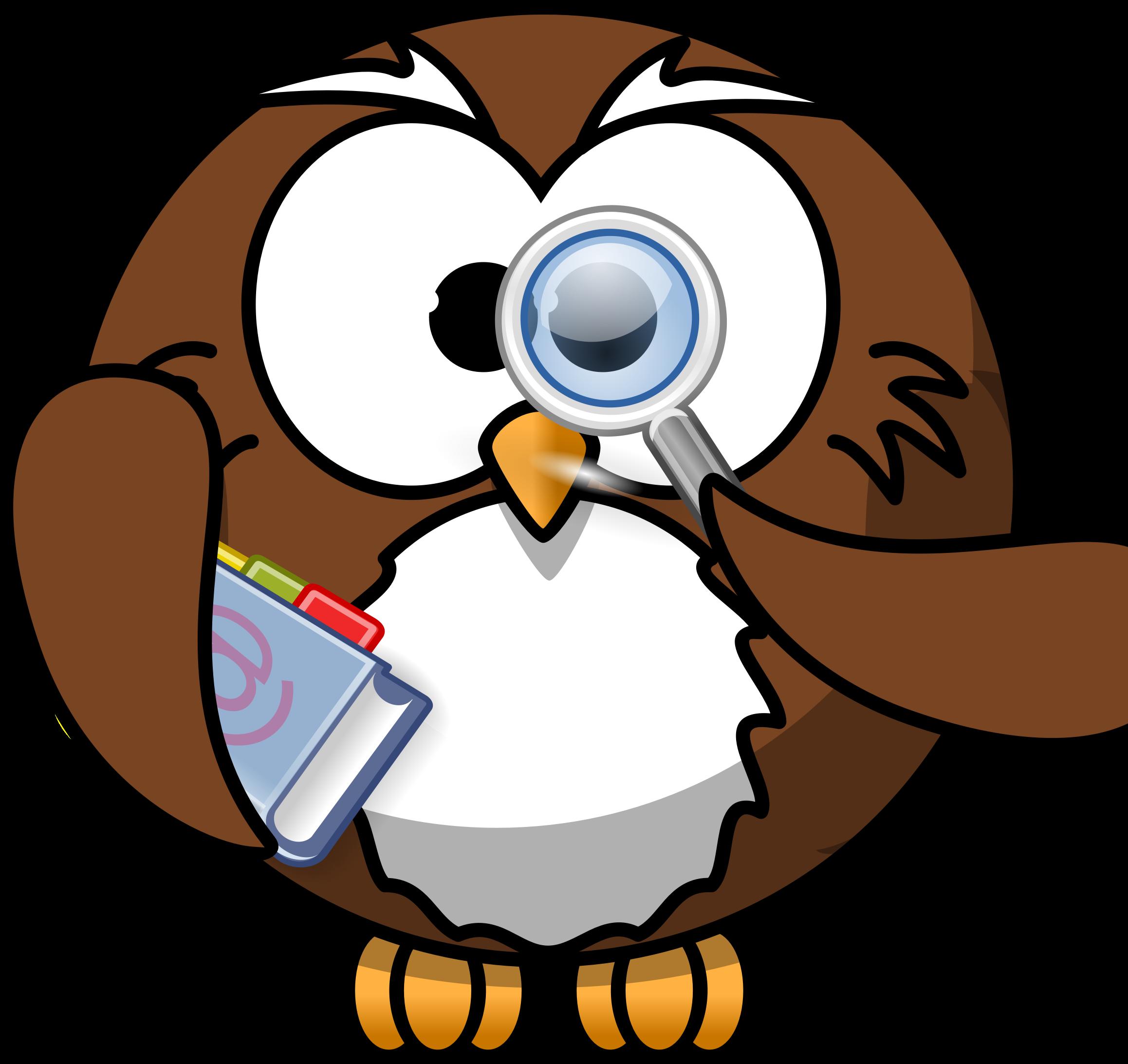 Smart Owl Clip Art - ClipArt Best