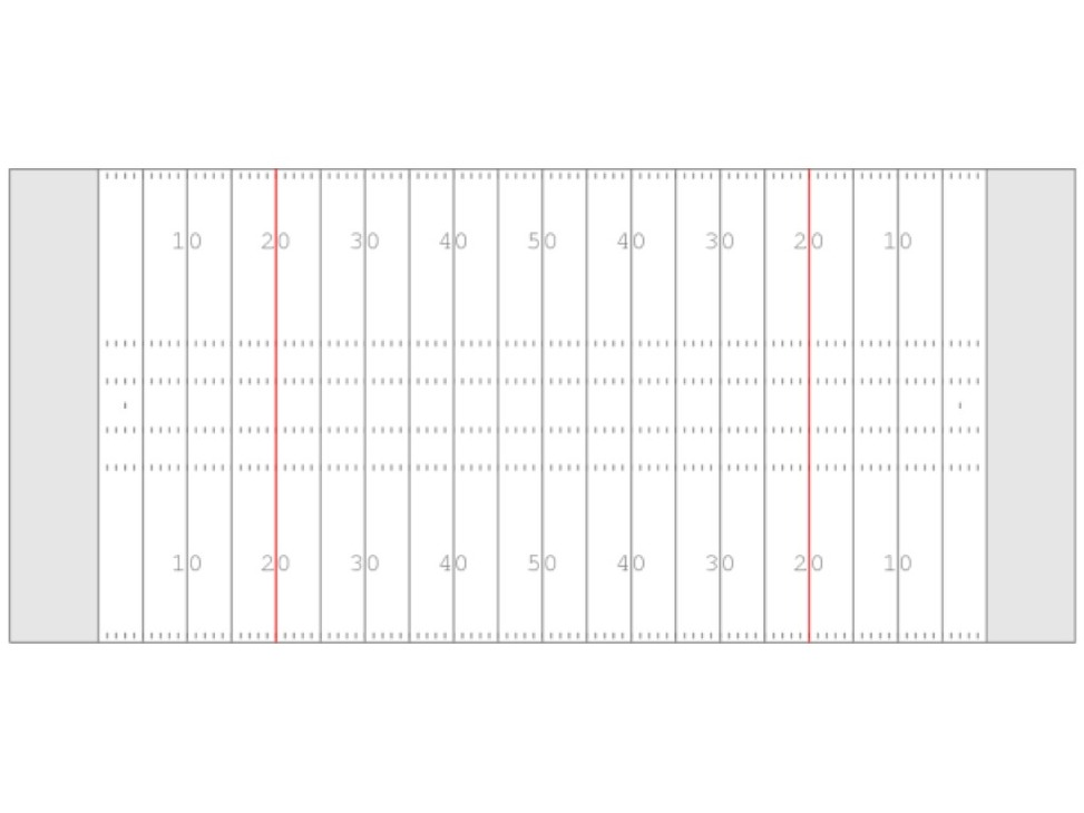 Football Field Outline Clipart - Free to use Clip Art Resource
