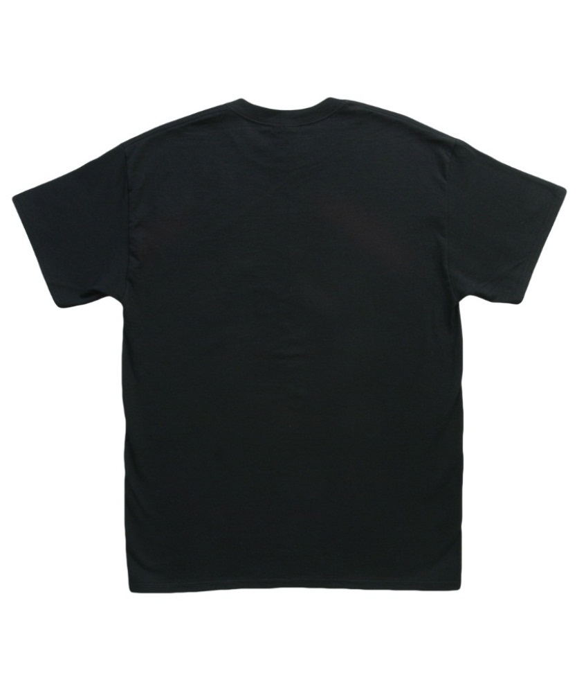 Black T Shirt Blank Back
