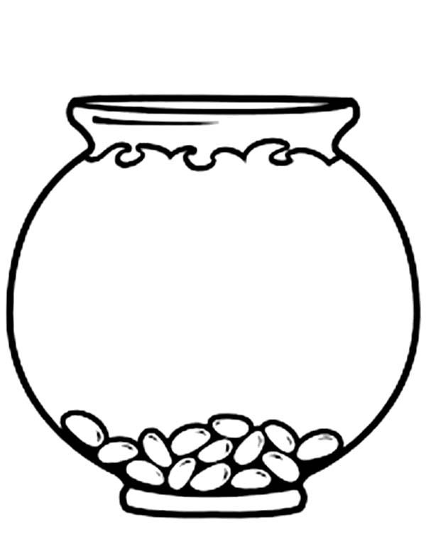 Coloring Pages Fish Bowl - Google Twit