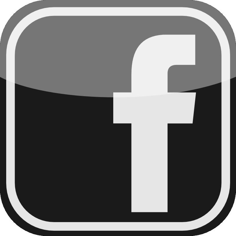 Black Facebook Logo Vector - ClipArt Best