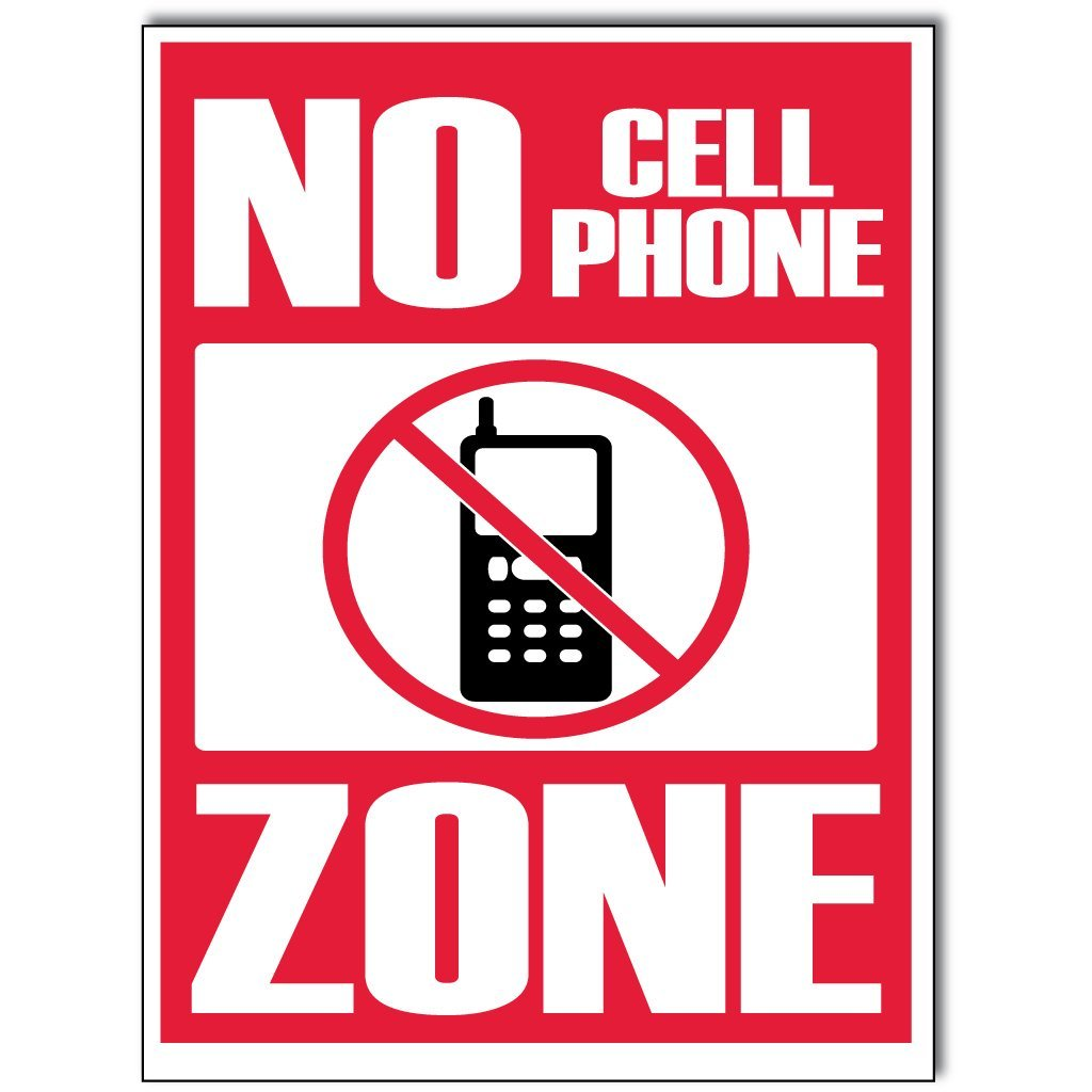Printable No Cell Phone Sign - ClipArt Best