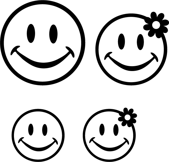 happy face printable - clipart best