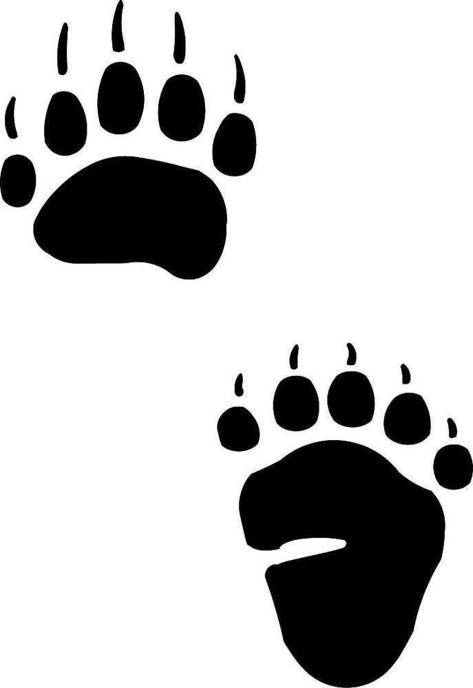 bear paw clip art