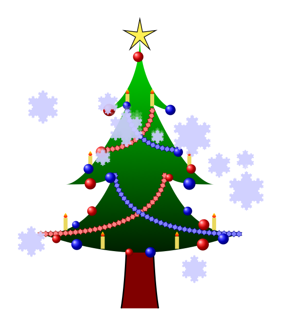 Christmas tree drawing clipart best for Decoration drawing