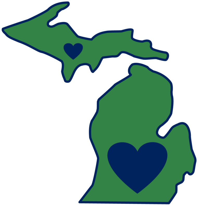 Best Photos of State Of Michigan Silhouette - Michigan Silhouette ...