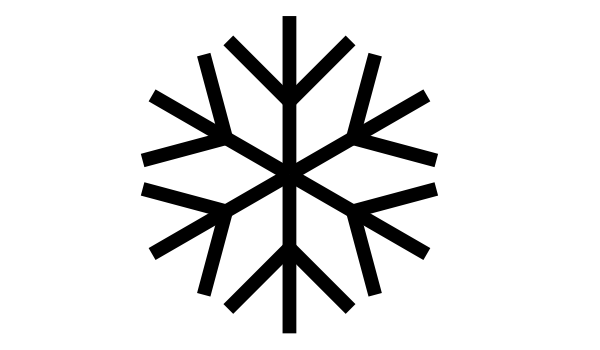 Line Drawing Snowflake : Snowflake line drawing clipart best