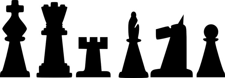 Chess Black And White Clipart Best