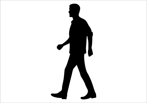 1000+ images about MAN SILHOUETTE