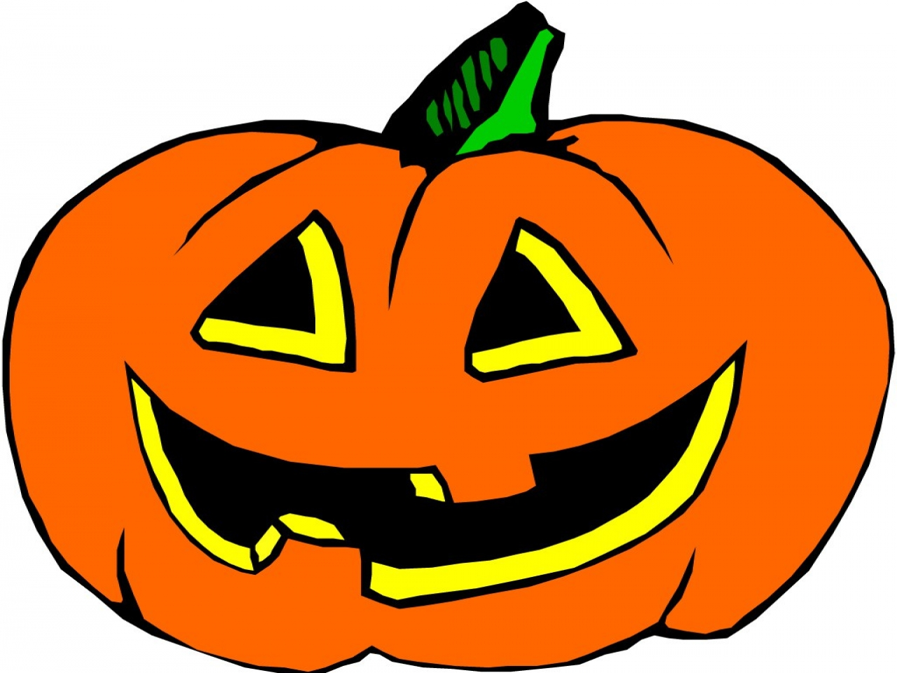 halloween cartoon pumpkins clipart best