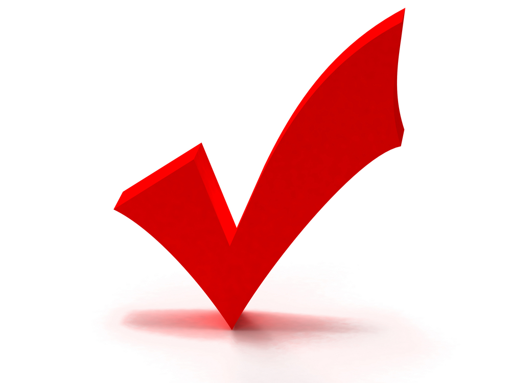 Red Check Mark Clipart Best