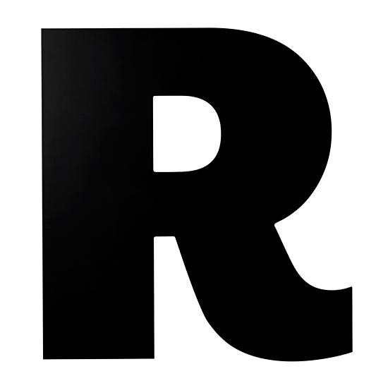 not giant enough letter r in wall letters the land of nod