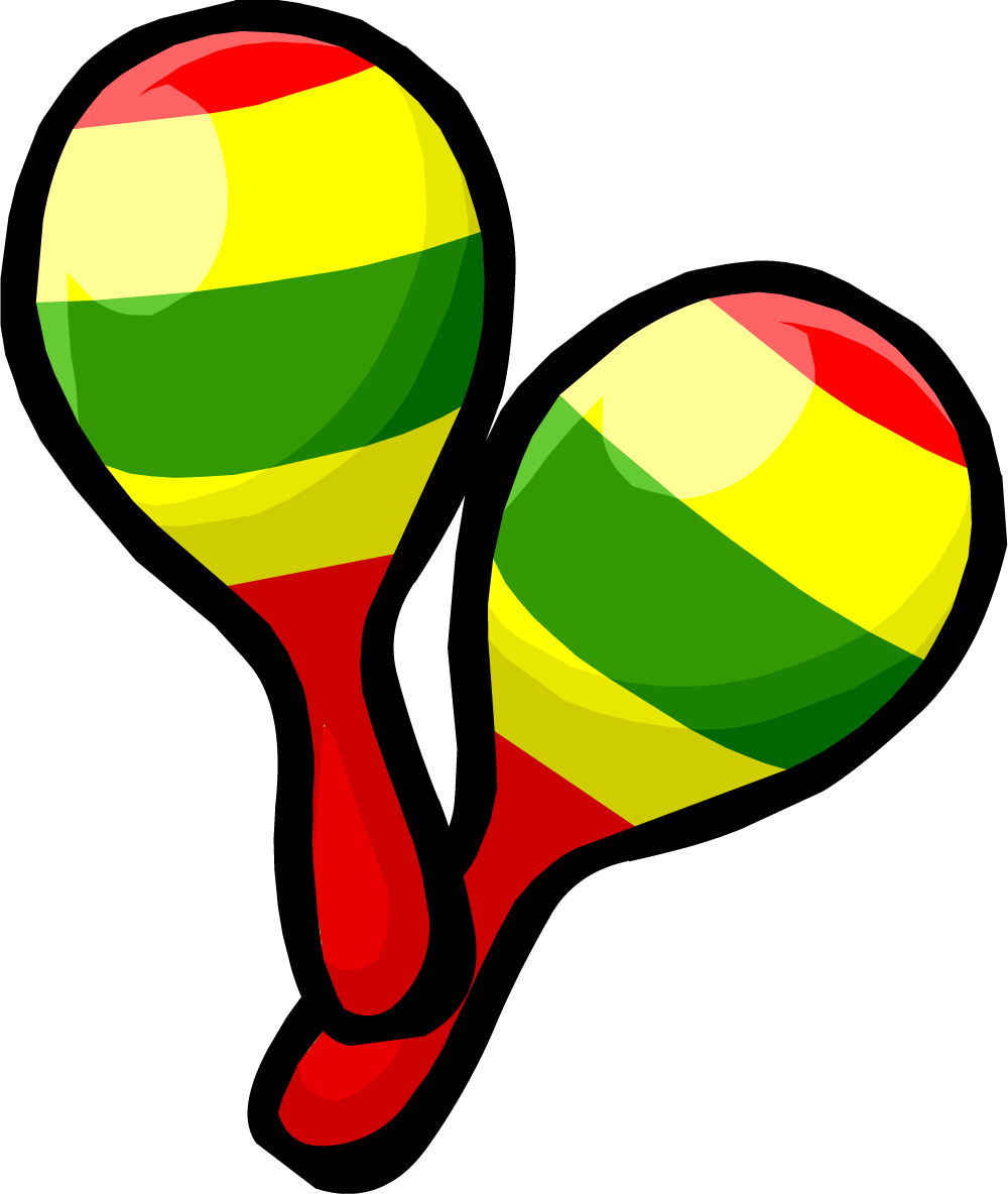 Maracas Clip Art - ClipArt Best - 54.0KB