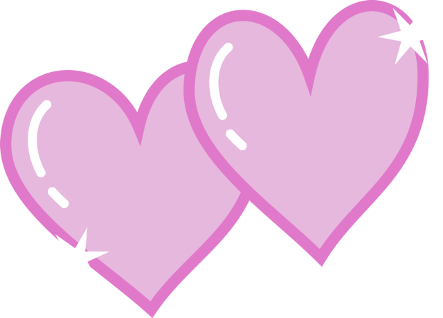 Intertwined Hearts Double Heart Clipart -...