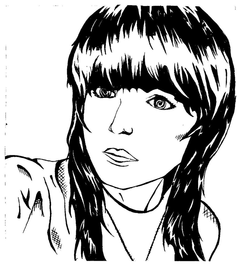 Line Drawing Woman : Line drawings of women clipart best