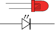 led symbol in circuit   clipart bestled symbol  led schematic symbol