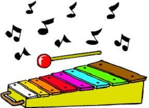 Xylophone Cartoon Image