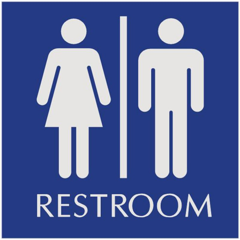 bathroom restroom signs geometric shapes and unisex on pinterest