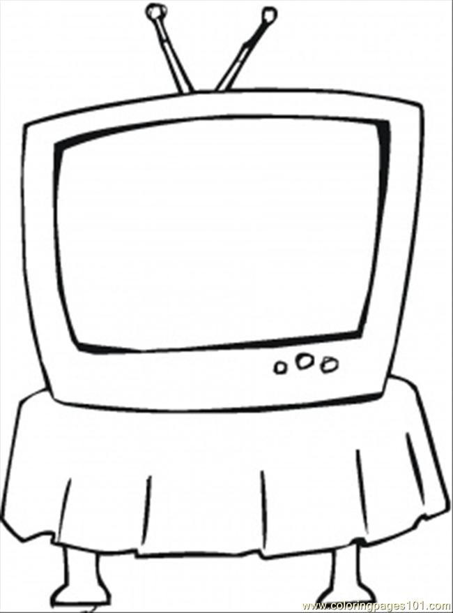 Watch Tv Coloring Pages | Coloring Pages - ClipArt Best ...