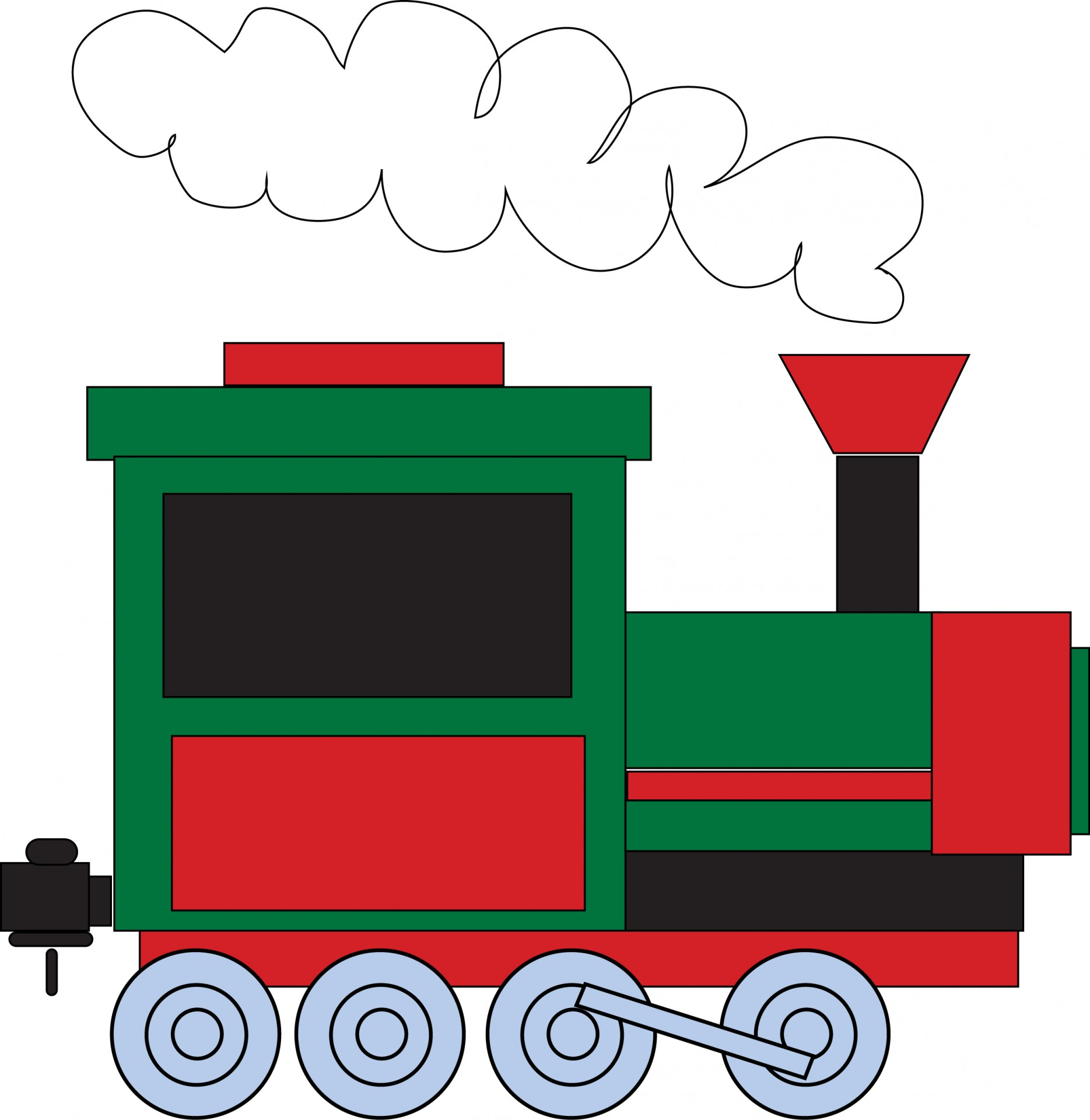 Train Clipart Free Stock Photo - Public Domain Pictures