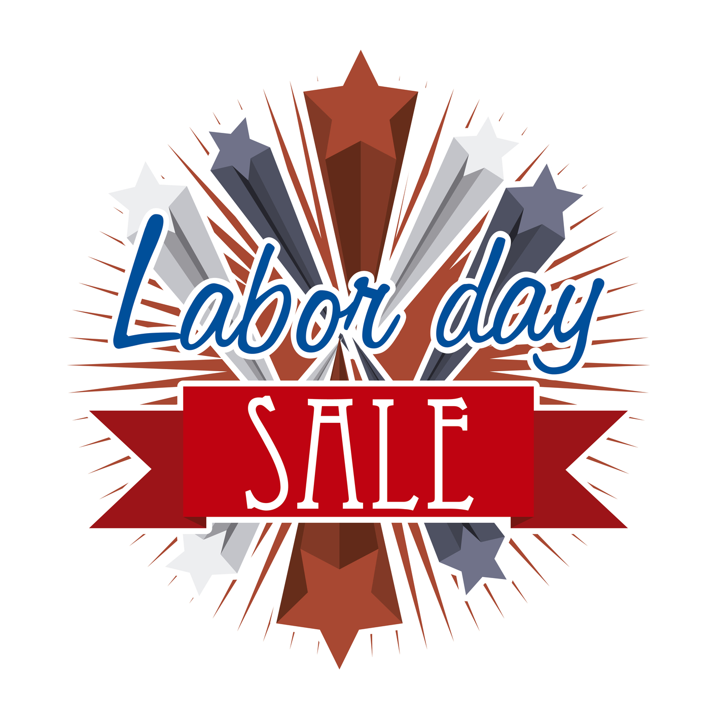 Labor day sale clipart