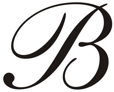 Fancy Letter B Designs Clipart Best