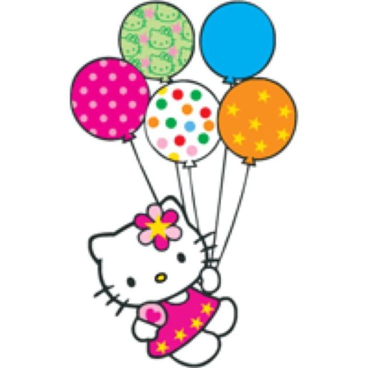 clipart hello kitty birthday - photo #12
