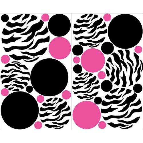 Pink and purple zebra wallpaper - photo#17