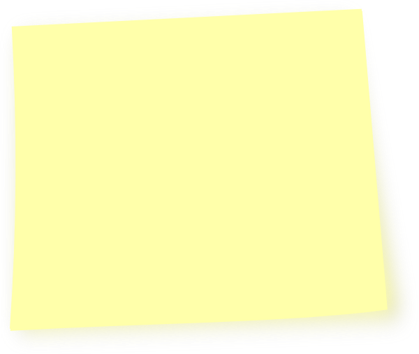 Light Yellow Post It Note clip art - vector clip art online ...: www.clipartbest.com/post-it-note-image