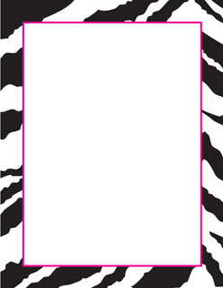 free printable zebra paper borders - Seivo ... - ClipArt Best ...