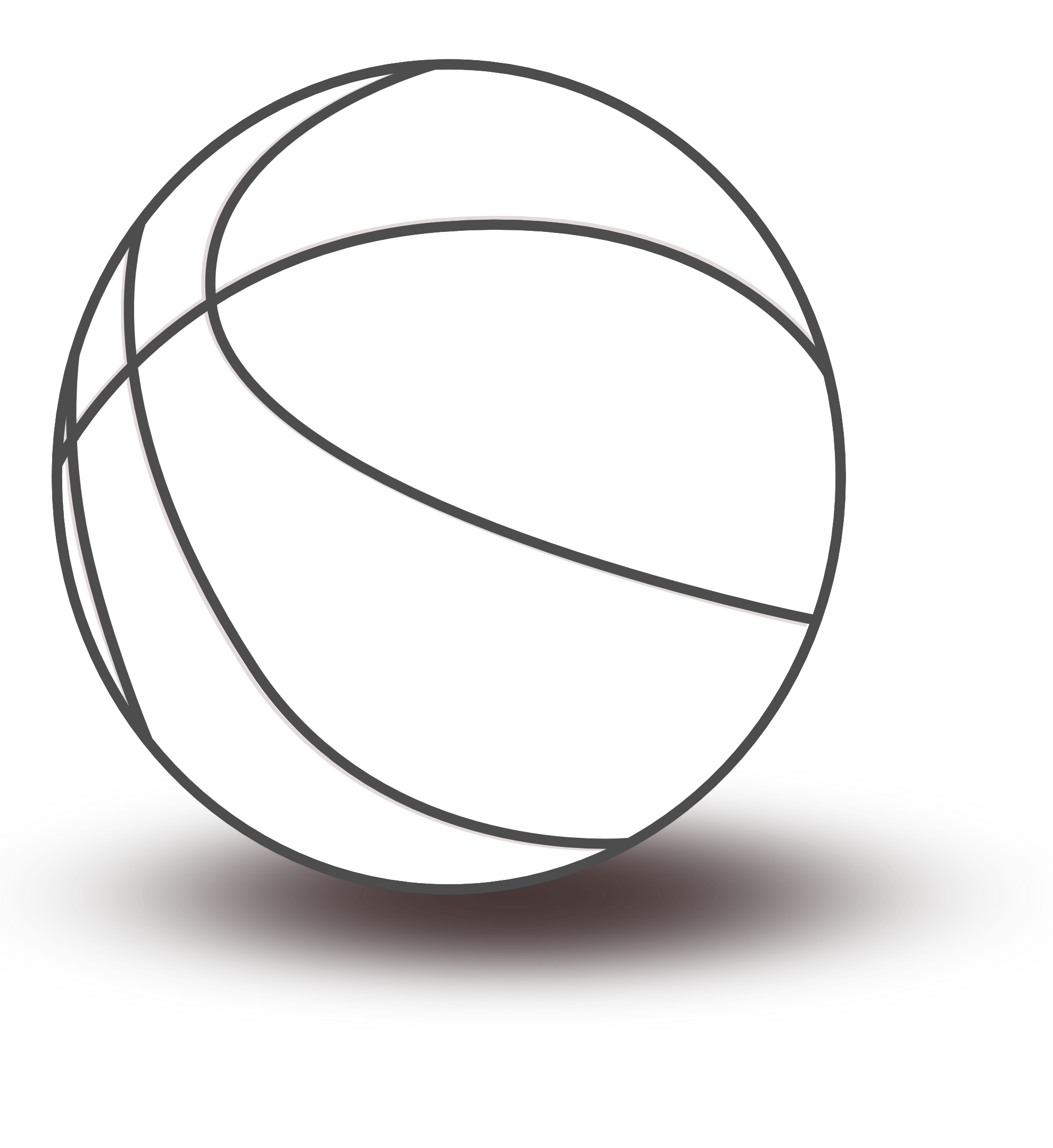 Basketball Black And White Clipart - ClipArt Best