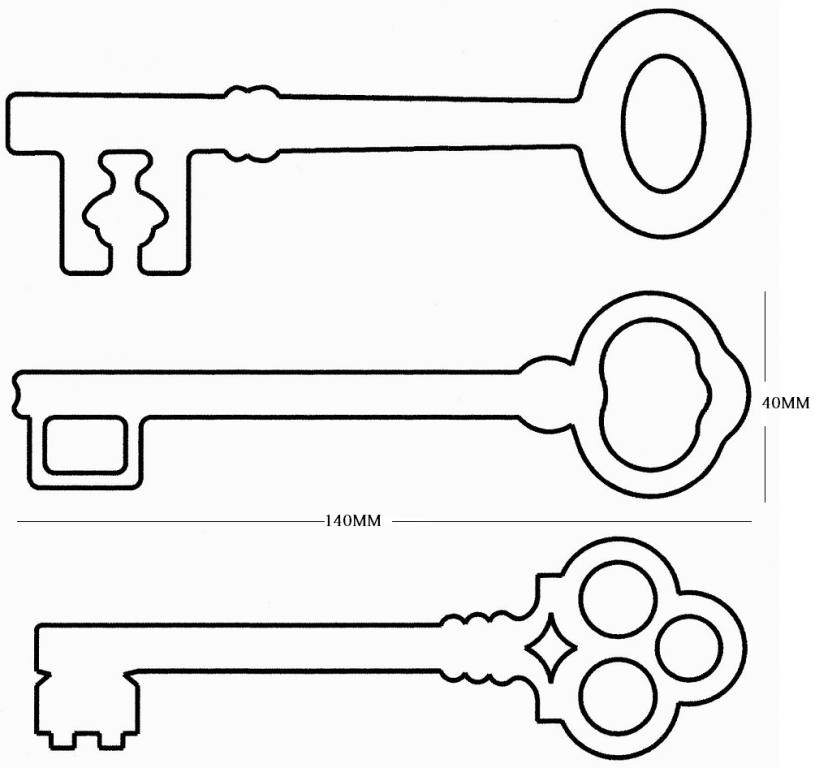 Key template for kids clipart best for Key coloring page