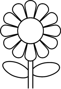 Daisy Template - ClipArt Best
