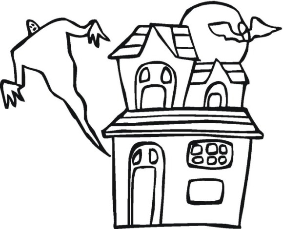 halloween coloring pages free easy - photo#33