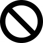 no symbol circle with slash prohibition sign | Download free Photos