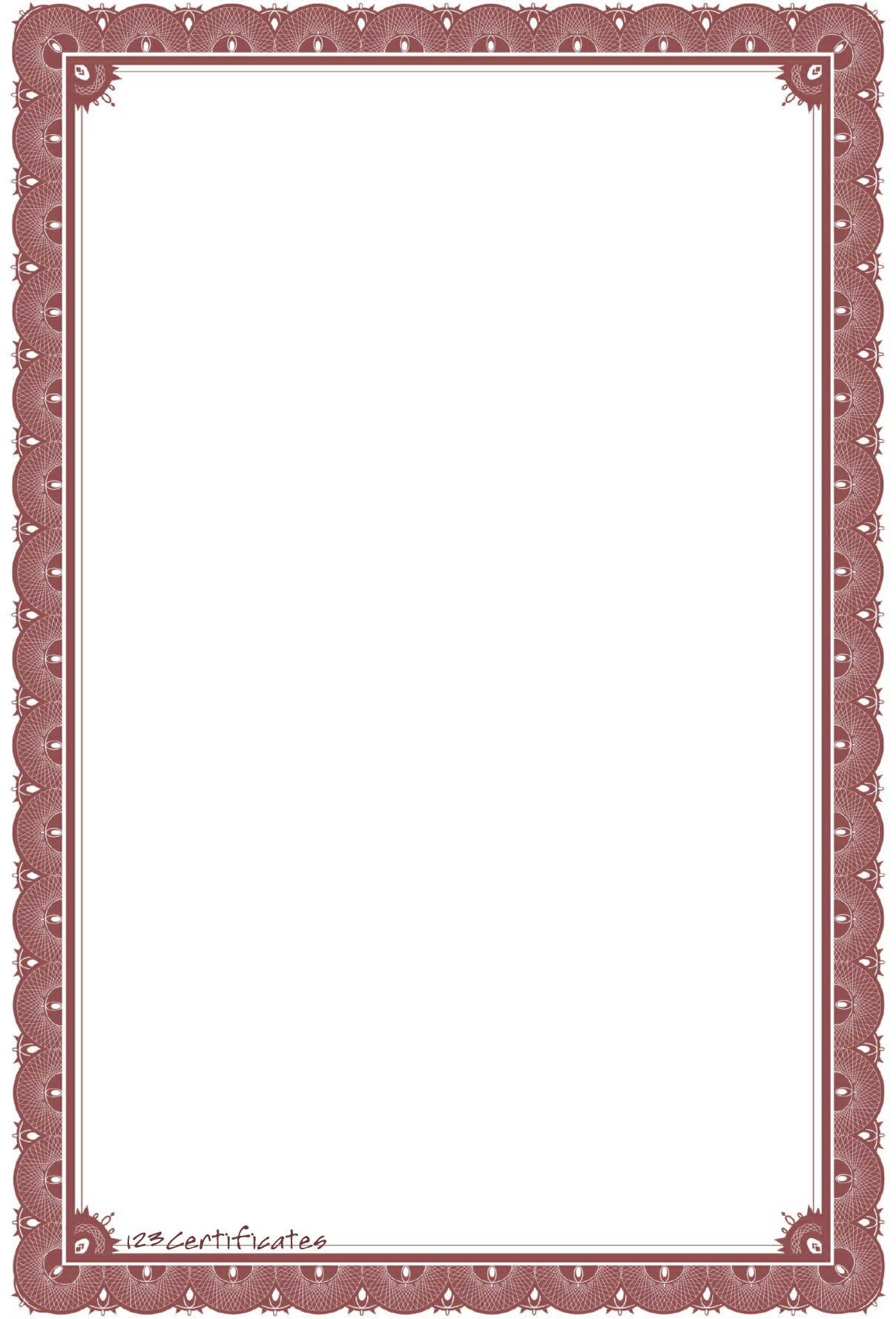 Certificate Border Template - ClipArt Best