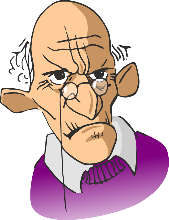 Old Man Cartoon Characters Clipart Best