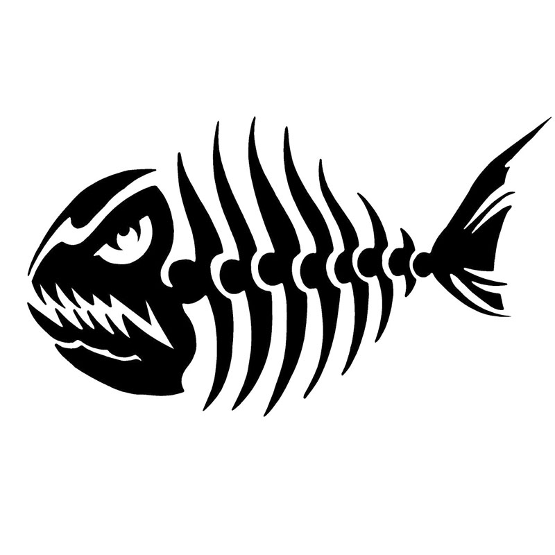Online Get Cheap Skeleton Fish Decals -Aliexpress.com | Alibaba Group