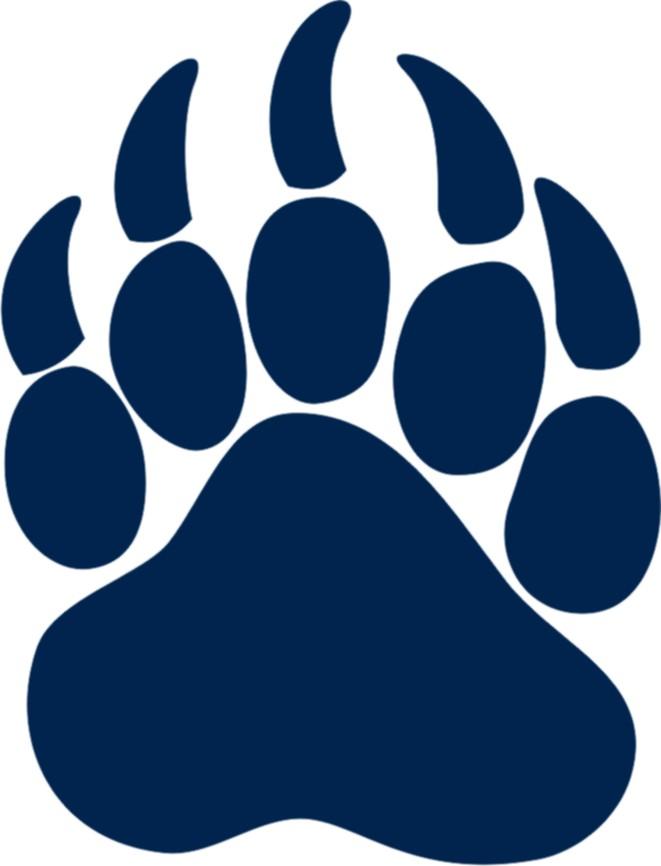 bear paw art clipart best Bear Claw Tattoo Bear Claw Stencil